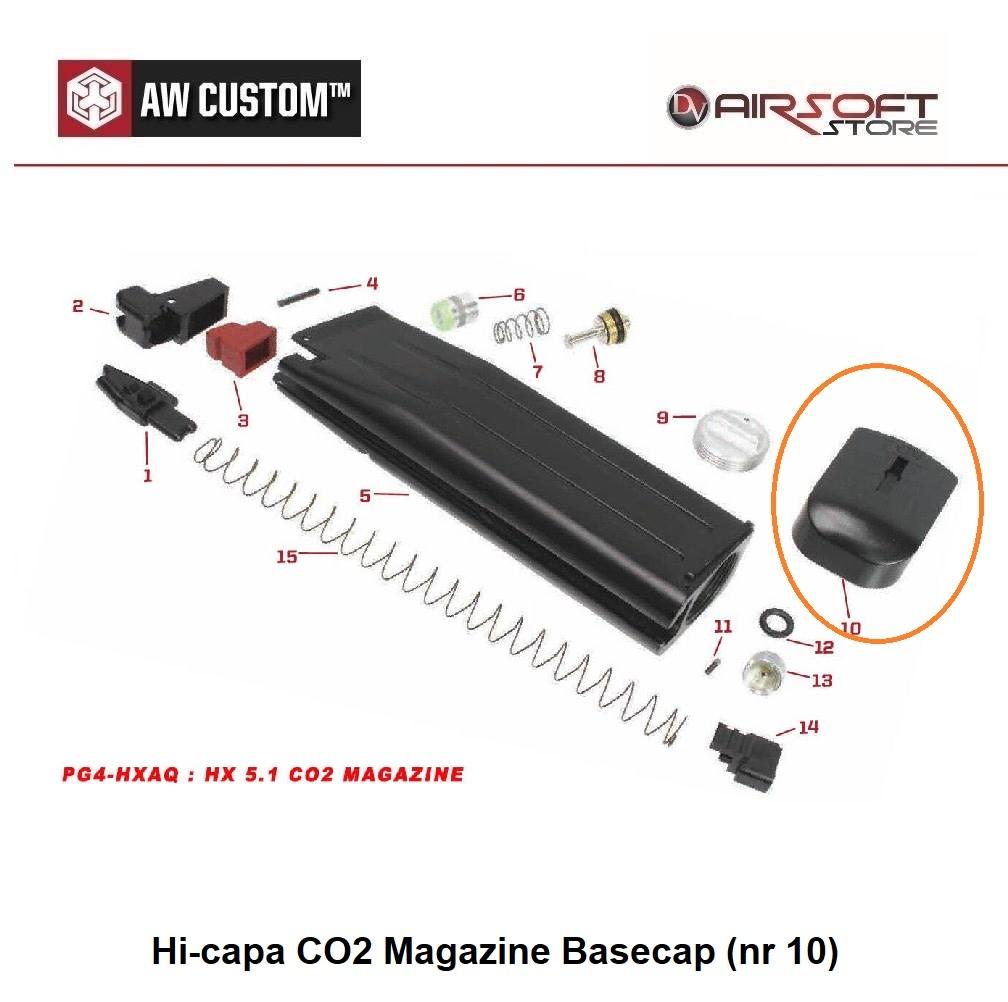 Armorer Works Hi-capa CO2 Magazine Basecap (nr 10)