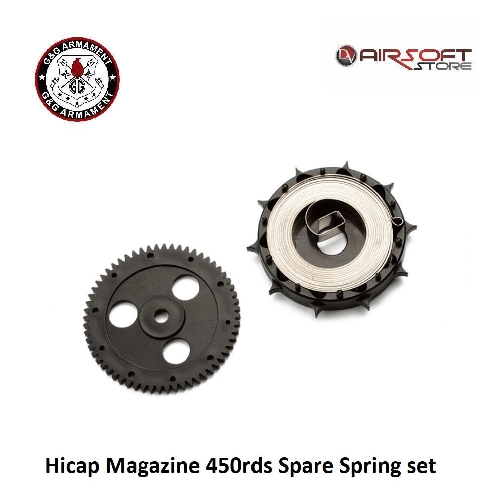 G&G Hicap Magazine 450rds Spare Spring set