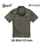 Brandit US Shirt 1/2 Arm (Olive)
