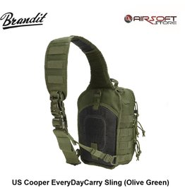 Brandit US Cooper EveryDayCarry Sling (Olive Green)