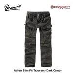 Brandit Adven Slim Fit Trousers (Dark Camo)