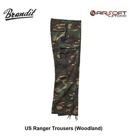 Brandit US Ranger Trousers (Woodland)