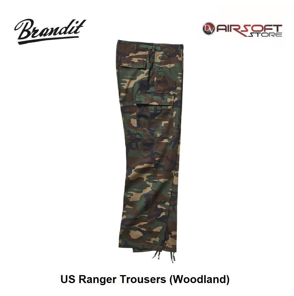 Brandit US Ranger Trousers (Woodland)
