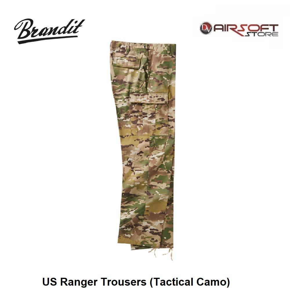 Brandit US Ranger Trousers (Tactical Camo)