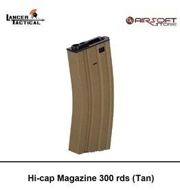 Lancer Tactical Hi-cap Magazine 300 rds (Tan)