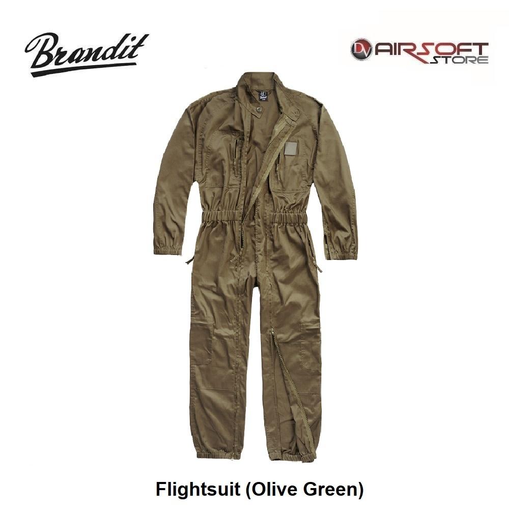 Brandit Flightsuit (Olive Green)