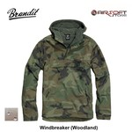 Brandit Windbreaker (Woodland)