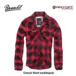 Brandit Check Shirt (red/black)