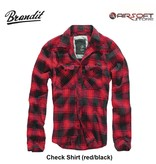 Brandit Check Shirt (red/black)