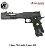 WE (Wei Tech) Hi-Capa 7 Full Metal Dragon GBB