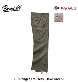 Brandit US Ranger Trousers (Olive Green)