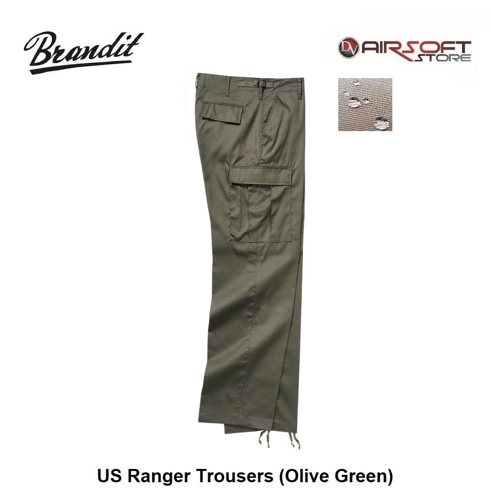 Brandit US Ranger Trousers (Olive Green)