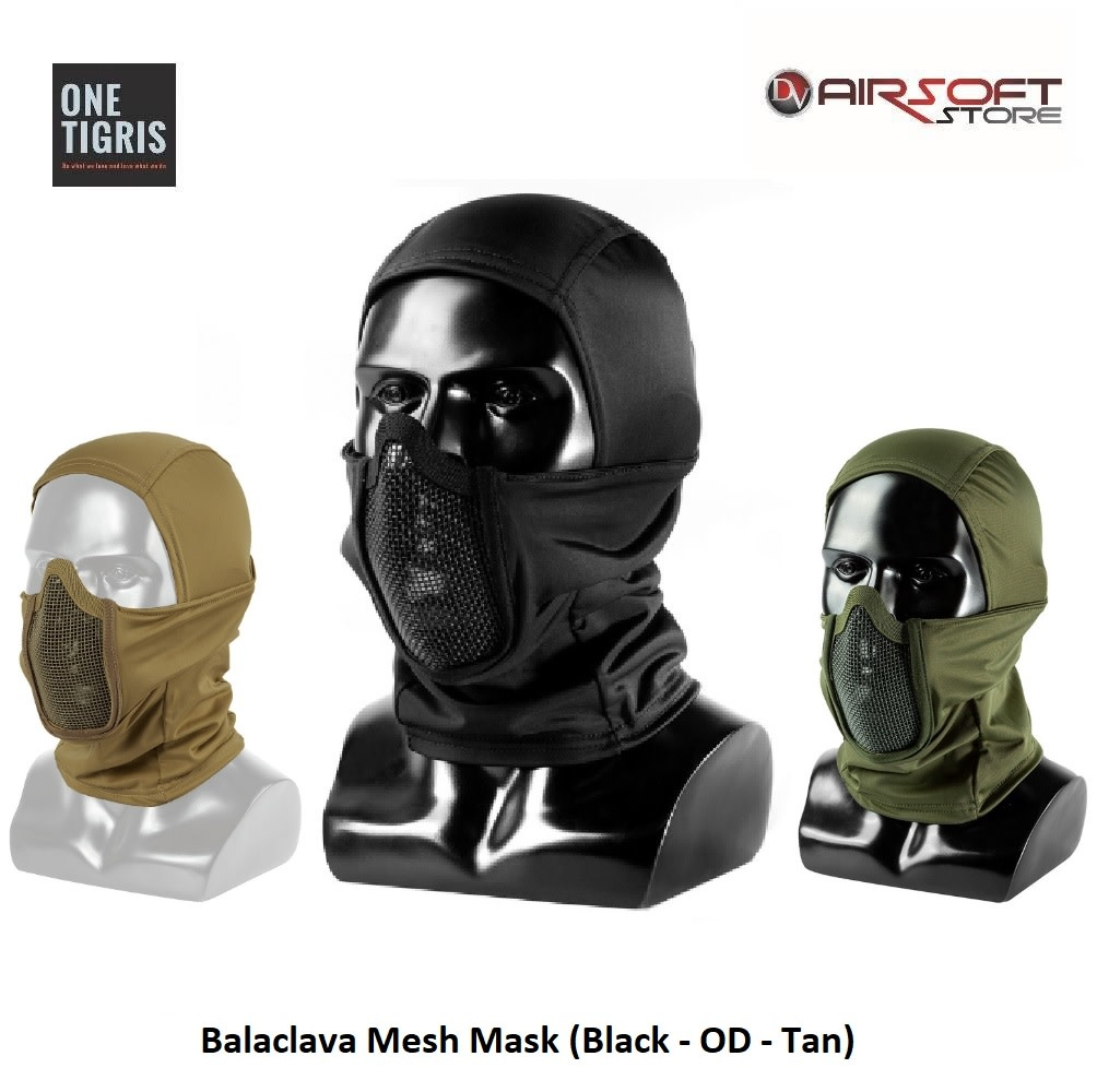 One Tigris Balaclava Mesh Mask