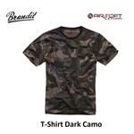 Brandit T-Shirt Dark Camo