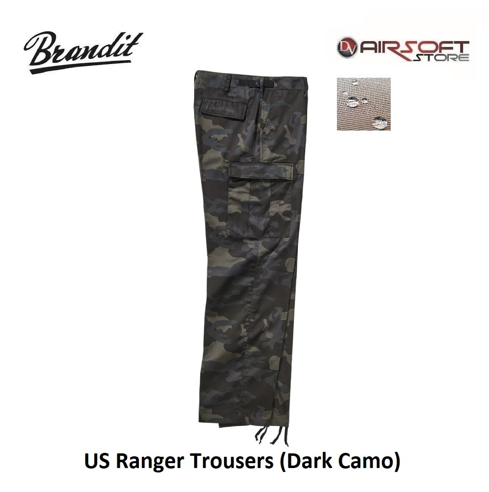 Brandit US Ranger Trousers (Dark Camo)