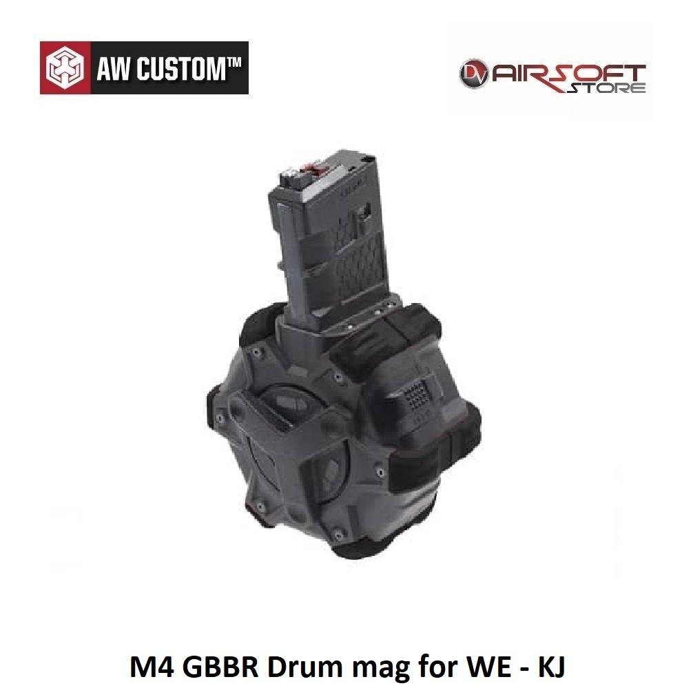 Armorer Works M4 GBBR Drum mag for WE - KJ