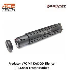 ACETECH Predator VFC M4 KAC QD Silencer + AT2000 Tracer Module