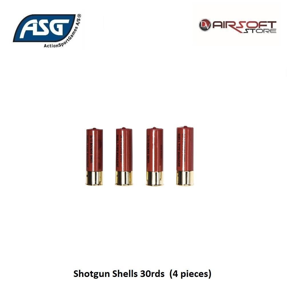 ASG Shotgun Shells 30rds  (4 pieces)