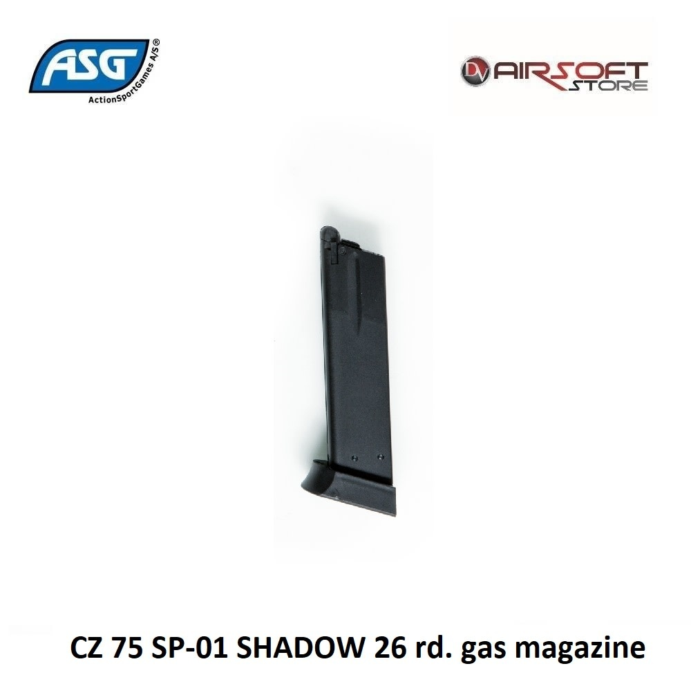 ASG CZ 75 SP-01 SHADOW 26 rd. gas magazine