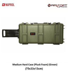 NUPROL Medium Hard Case (Pluck Foam) (Green)