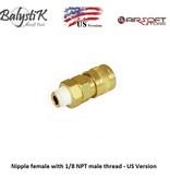 Balystik Nipple female with 1/8 NPT male thread - US Version