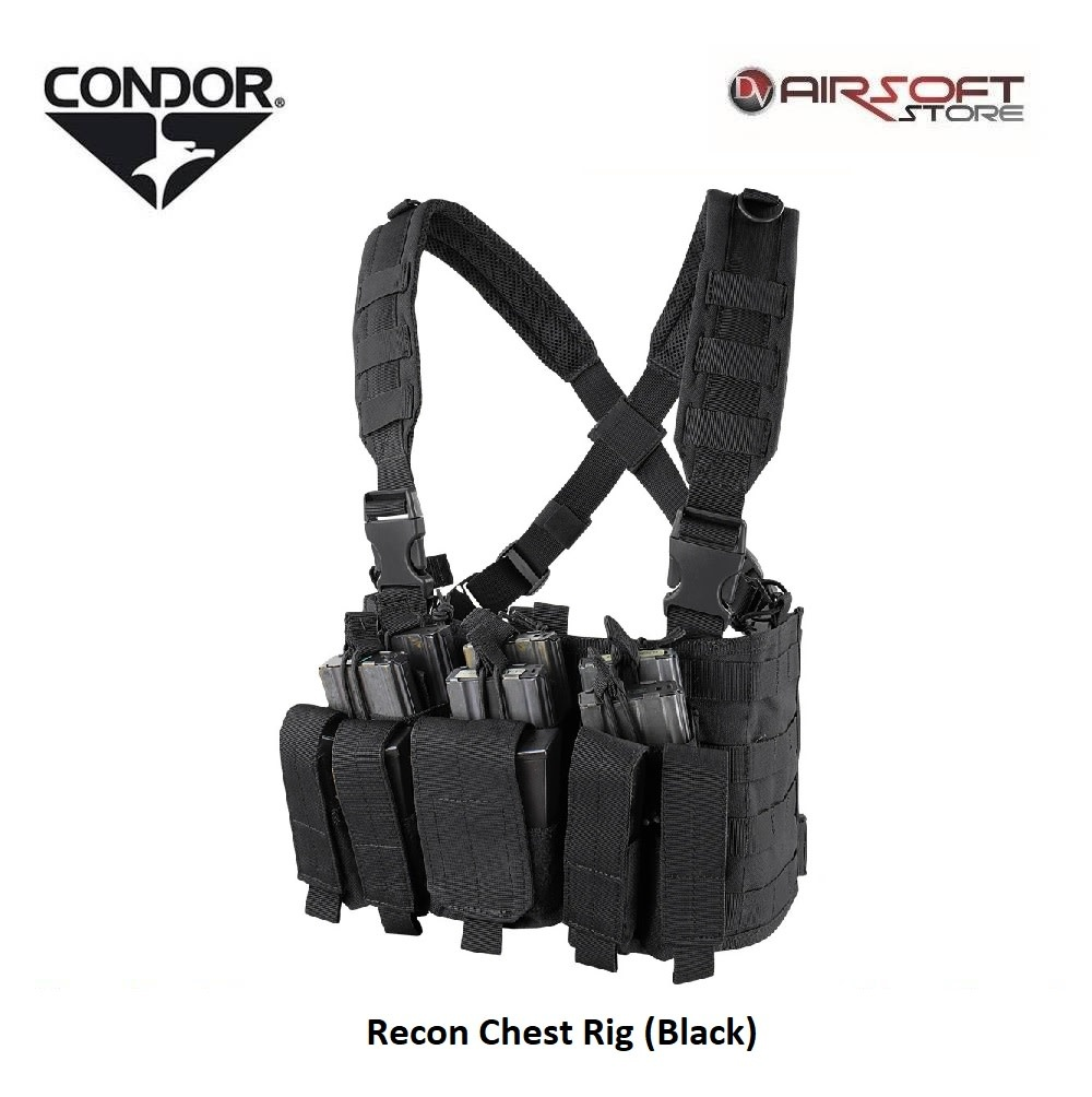 CONDOR Recon Chest Rig (Black)