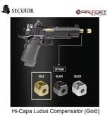 Secutor Hi-Capa Ludus Compensator (Gold)