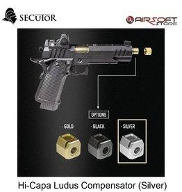 Secutor Hi-Capa Ludus Compensator (Silver)