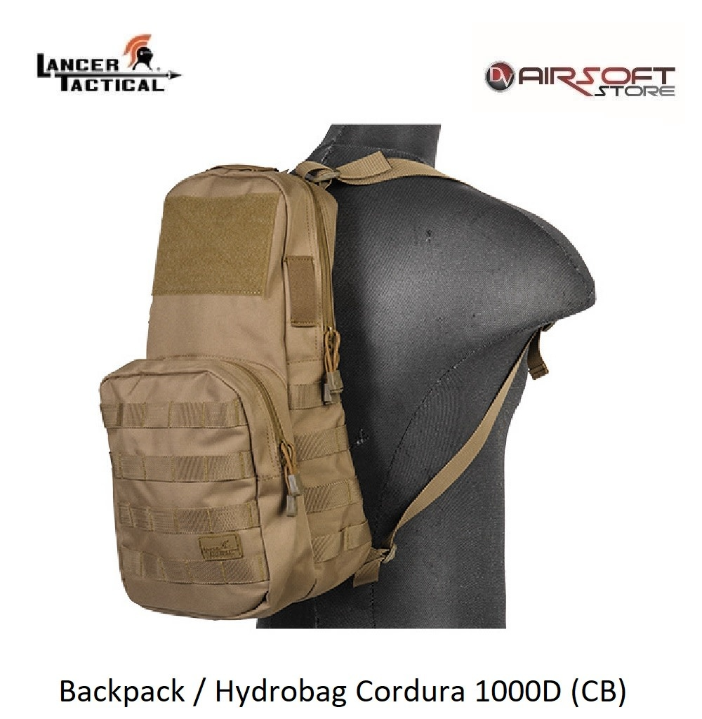 Lancer Tactical Backpack / Hydrobag Cordura 1000D (CB)