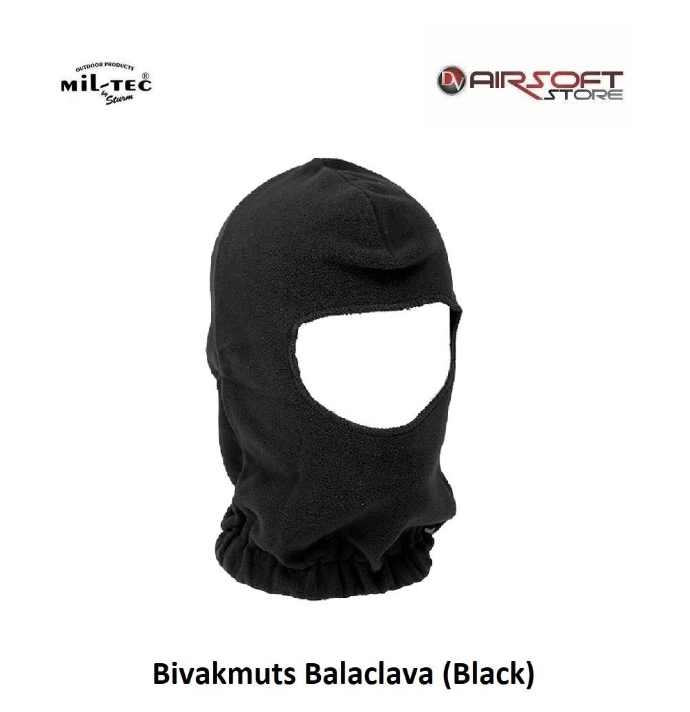 Mil-Tec Bivakmuts Balaclava (Black)