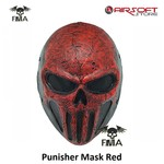FMA Punisher Mask Red