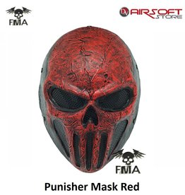 FMA Punisher Mask Red