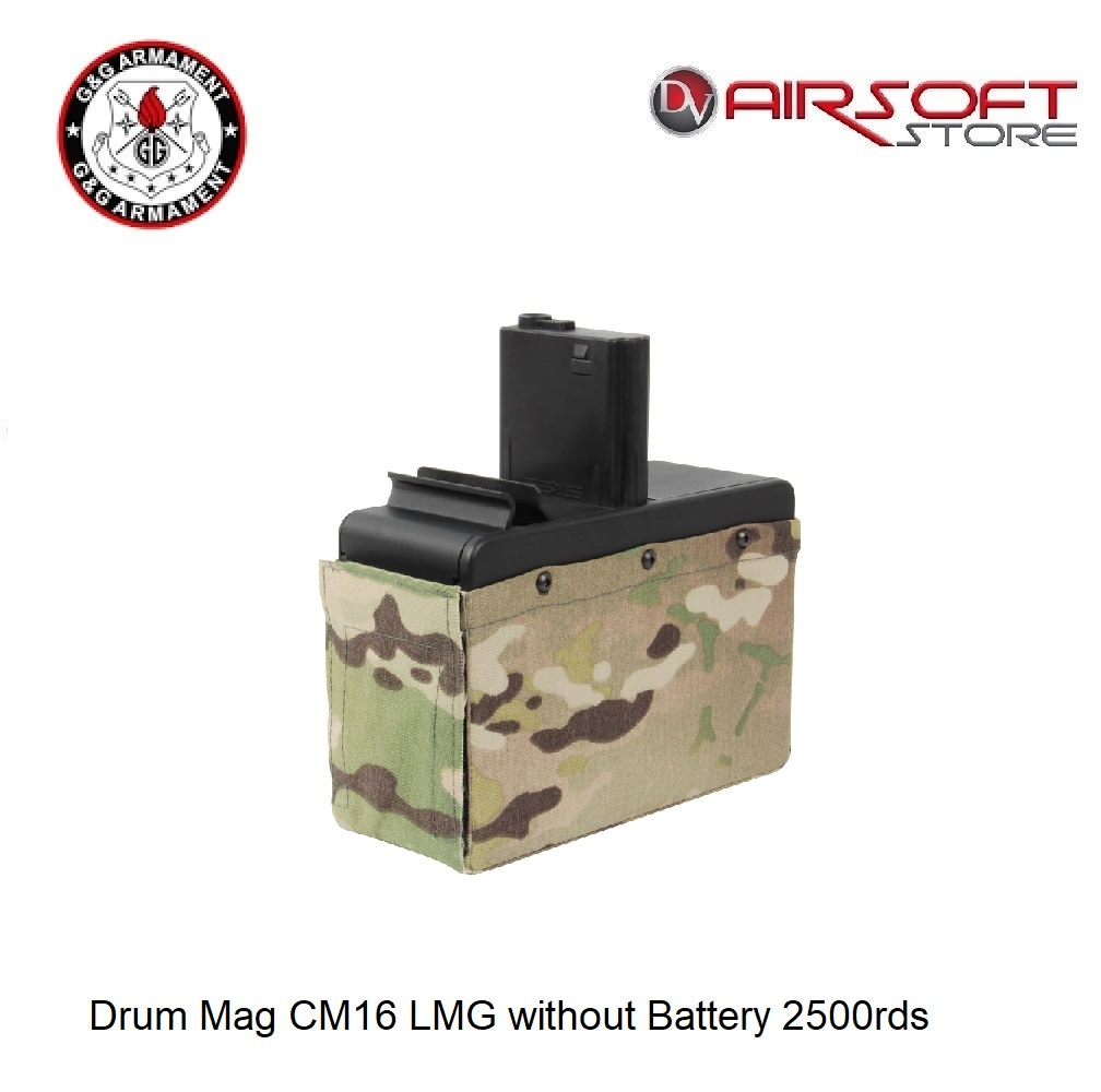 G&G Drum Mag CM16 LMG without Battery 2500rds