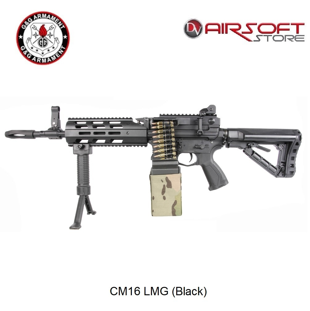 G&G CM16 LMG (Black)