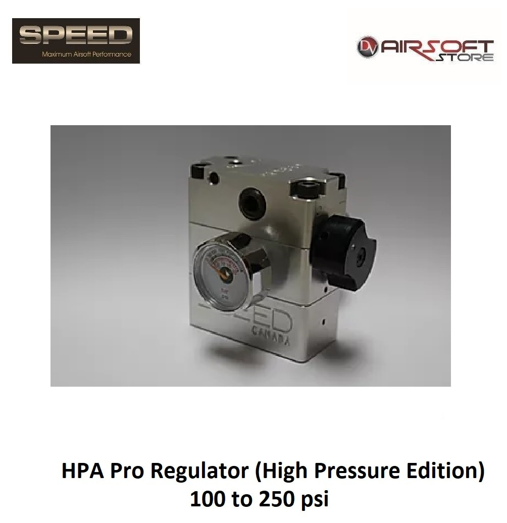 Speed Airsoft HPA Pro Regulator (High Pressure Edition)