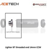 ACETECH Lighter BT threaded end 14mm CCW