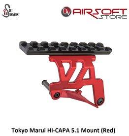 Airsoft Surgeon Tokyo Marui HI-CAPA 5.1 Mount (Red)