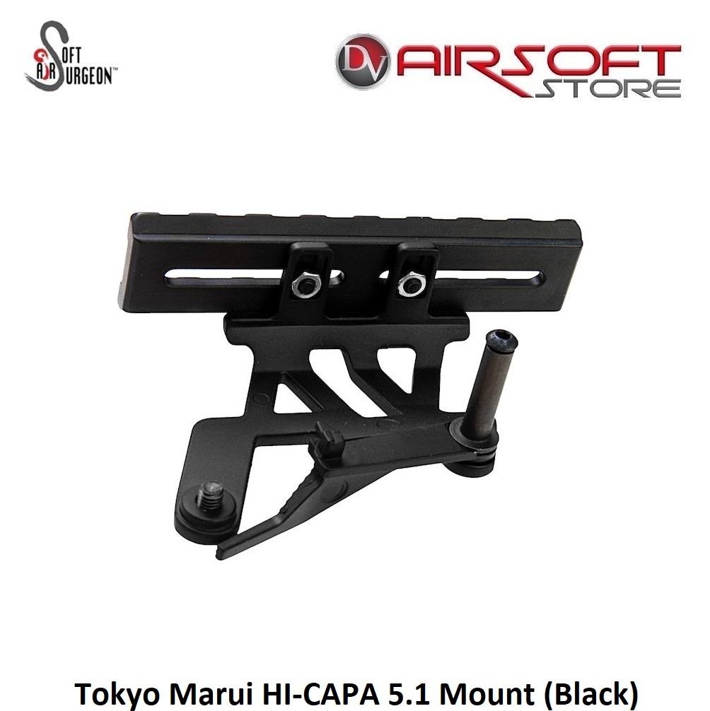 Airsoft Surgeon Tokyo Marui HI-CAPA 5.1 Mount (Black)