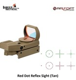 Lancer Tactical Red Dot Reflex Sight (Tan)