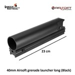 Lancer Tactical 40mm Airsoft grenade launcher long (Black)