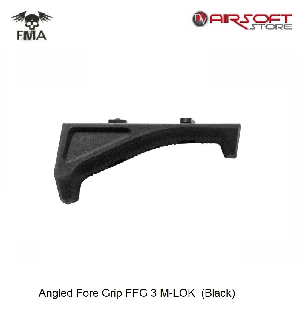 FMA Angled Fore Grip FFG 3 M-LOK  (Black)