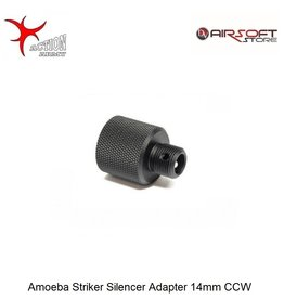 Action Army Amoeba Striker Silencer Adapter 14mm CCW