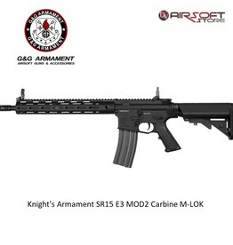 G&G Knight's Armament SR15 E3 MOD2 Carbine M-LOK