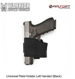 Warrior Universal Pistol Holster Left Handed (Black)