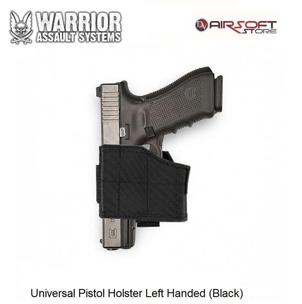 Warrior Universal Pistol Holster Left Handed (Black)