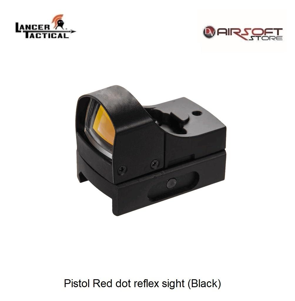 Lancer Tactical Pistol Red dot reflex sight (Black)
