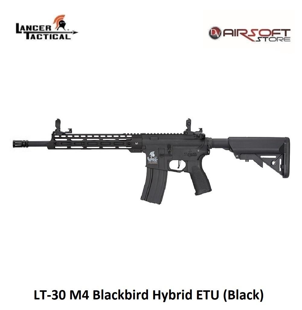 Lancer Tactical LT-30 M4 Blackbird Hybrid ETU (Black)