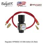 Balystik Regulator HPR800C V3 With Airline US (Red)