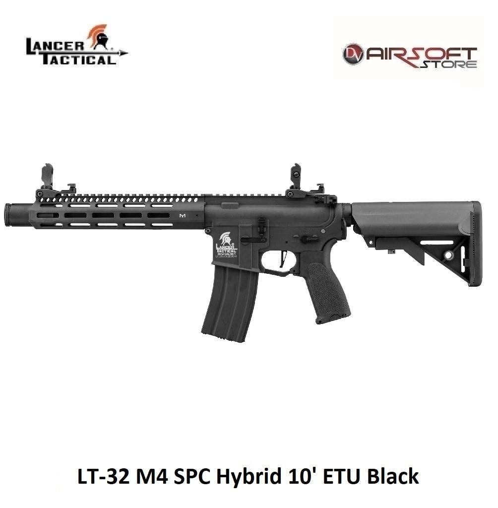 Lancer Tactical LT-32 M4 SPC Hybrid 10' ETU Black