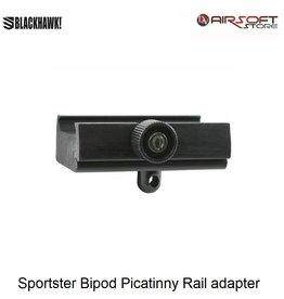Blackhawk Sportster Bipod Picatinny Rail adapter